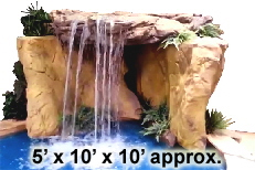 Caverna Grotto Waterfall Kit