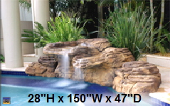 Cheyenne Swimming Pool Waterfall Kit