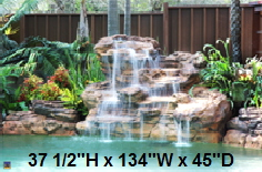 Cascadia Swimming Pool Waterfall kit