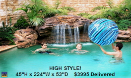 Pool Waterfall Kits