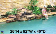 Canoa Swimming Pool Waterfall